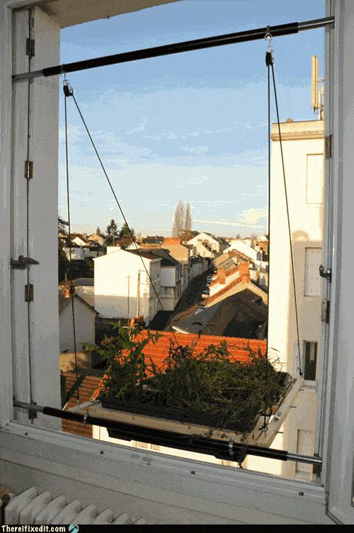 jardim para janela de apartamento