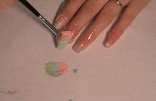 multicolored-nail-paint