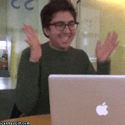 Funny-gif-happy-clapping-computer