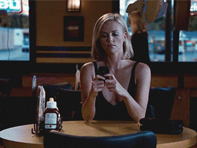 GIPHY, http://giphy.com/gifs/charlize-theron-texting-blackberry-l0O9yvdWwLJyp19As